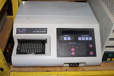 Bio-tek Micro Plate Reader El340  Reader