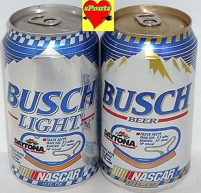 Florida Nascar Daytona International Race Track Busch Light Beer Cans Sports Car