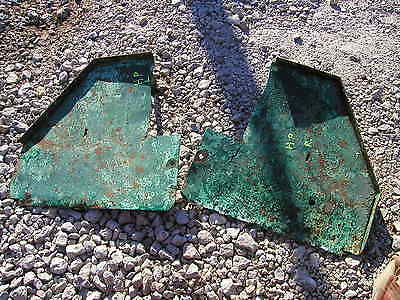 Hart Parr Rowcrop Tractor Original Pairset Of Rear Platform Steps Right Left