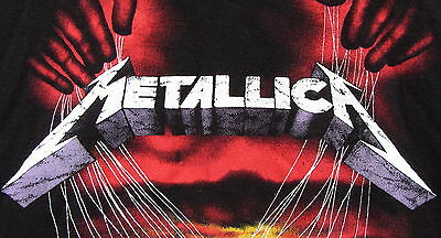 CLEANING OUT MY CLOSET! GENTLY USED METALLICA MASTER OF PUPPETS GRAPHIC T-SHIRT