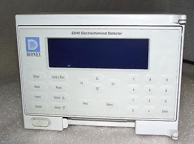 Dionex Ed40 Electrochemical Detector W Warranty
