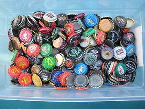 500  Soda Bottle Crown Caps.