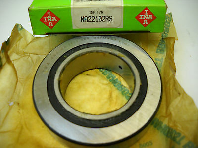 Ina Na22102rs Cam Follower Needle Roller Bearing Na 2210.2rs New In Box