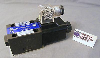 D03 Hydraulic Directional Control Solenoid Valve Single Coil 12060 Volt Ac