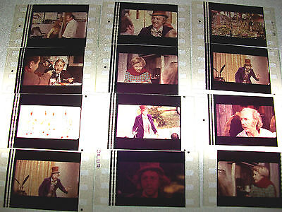WILLY WONKA Film Cell Lot of 12 - collectible compliments dvd poster book