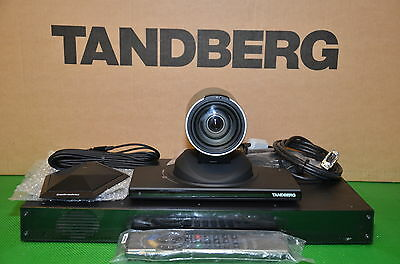 Tandberg Codec 6000mxp Ttc6-08 Video Conf. Hd Camera Multisite Ms Npp F9.1 Ntsc