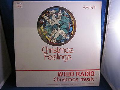 Christmas Feelings Whio Radio Christmas Music Album Unopened