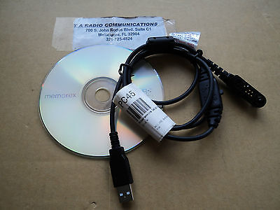 Hyt Compatible Programming Cable Software X1e X1p Pd662 Pd682 Pd602 Pc45 Hytera