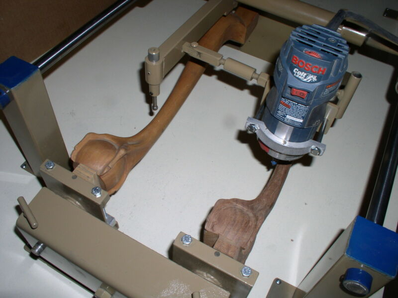 -Wood Carving Duplicator... Carves Anything