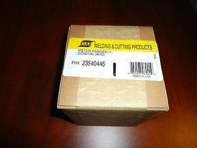 Esab Meter Assembly Didgital 4hd Part 23540446 New 100 In Esab Box