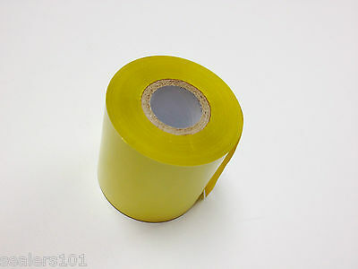 Hot Stamping Foil Ribbon For Embossing And Printing Yellow - 2.50 X 110yd
