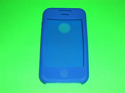 BLUE SILICONE CASE SKIN COVER FOR APPLE IPHONE 3G 3g Blue Skin