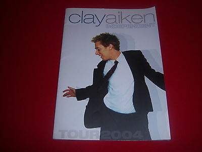 CLAY AIKEN - 2004 INDEPENDENT TOUR souvenir program - AMERICAN IDOL