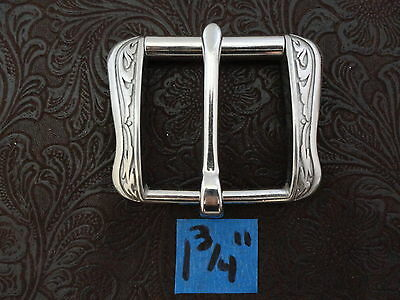 """Western Equestrian Tack Antiqued Silver Barbed Wire1 1//2/"""" Concho"""