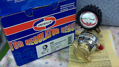 Regulator Acetylene Single Gauge Uniweld Rb