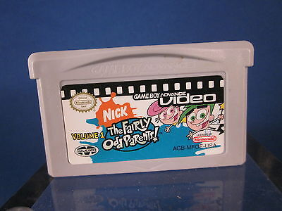Game Boy Advance Gba Video Nick The Fairly Odd Parents Volume 1 Video Game