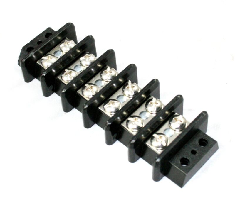 6 Position 50A Barrier Strip - Lot of 5