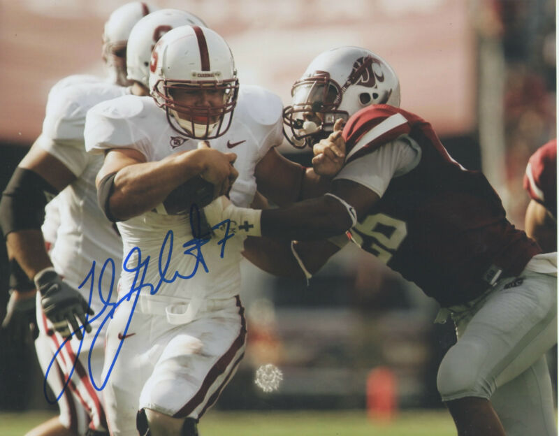 Toby Gerhart MN *Minnesota Vikings* Stanford Signed 8x10 Photo T5 COA GFA PROOF!