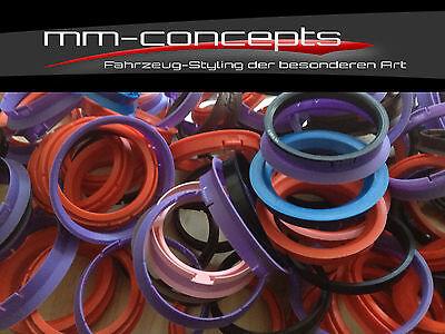 4 Zentrierringe 70,0 - 57,1 VW Audi Seat Felgen Ringe Alufelgen Rial Alutec