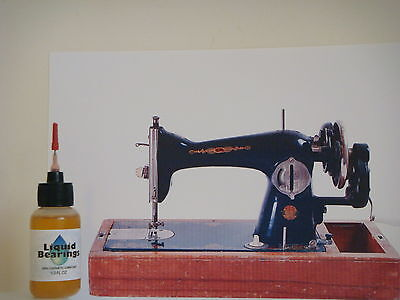 Liquid Bearings, BEST 100%-synthetic oil for antique Singer sewing machines!