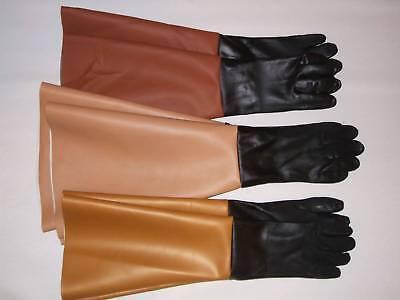 7x20 Sandblast Cabinet Sand Blast Blaster Gloves