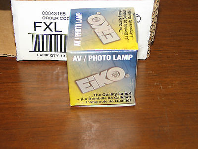 Lot Of 10 Eiko Fxl Avphoto Lamps 82v 140w New In Box