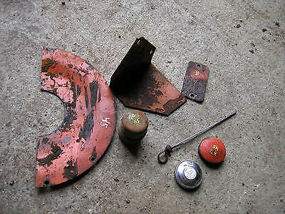 7 Allis Chalmers Wd45 Tractor Ac Parts Trans Cover Caps Oil Dip Stick Step