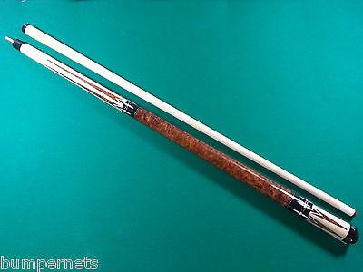 New Natural   Walnut Custom Players Pool Cue 18 19 20 21 Oz Billiards Stick