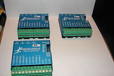 3 Geckodrive G-320x Cnc Servo Motor Drivers Gecko Great Price Router Mill Plasma