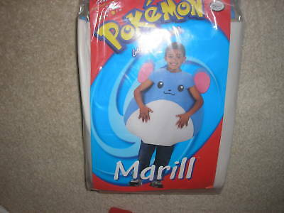 New Pokemon  Marill Halloween Costume Size 4 - 6 - Children's Pokemon Halloween Costumes
