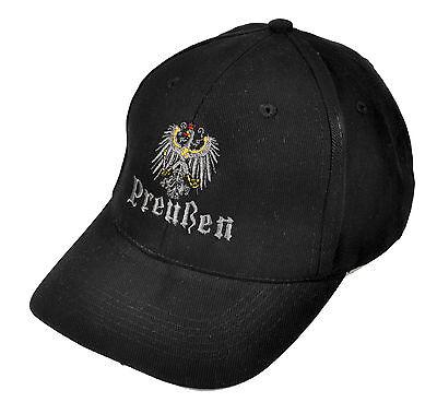 Gestickte Adler (Basecap Mütze Preußen Friedrich der Große Kaiser Wilhelm  Preußen Adler gestickt)