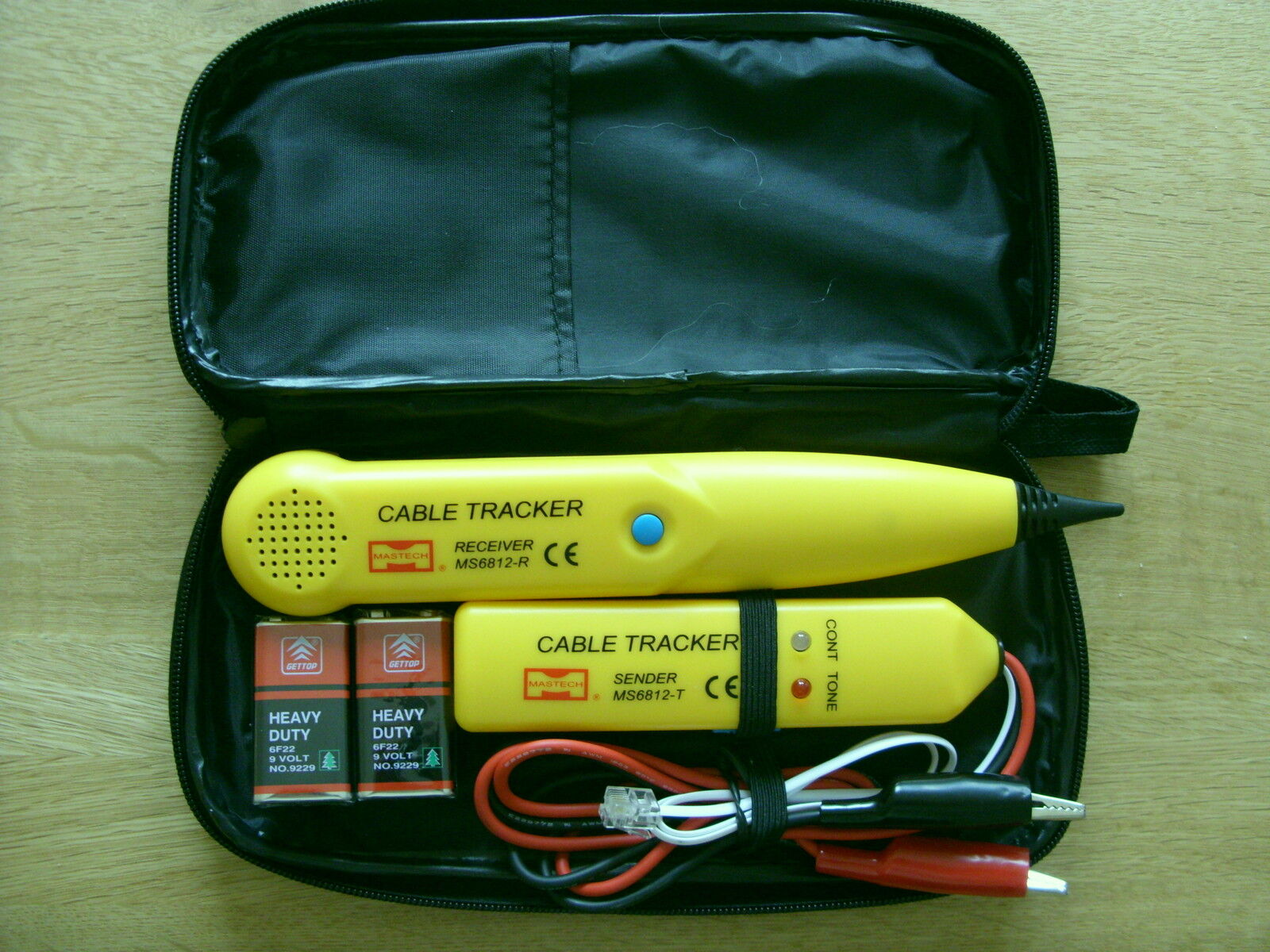 CABLE FINDER TONE GENERATOR AND PROBE TRACKER WIRE TRACER KIT NETWORK TESTER