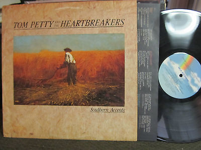 TOM PETTY AND THE HEARTBREAKERS Southern Accents LP MCA-5486 '85 W/ Lyric - Tom Petty Heartbreakers Lyrics