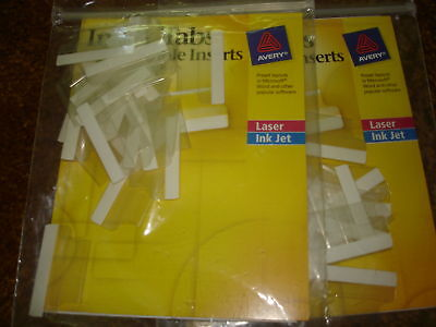 Avery Index Tabs With Printable Inserts-1 Lot Of 2