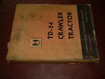 International Td 24 Crawler Tractor Service Manual