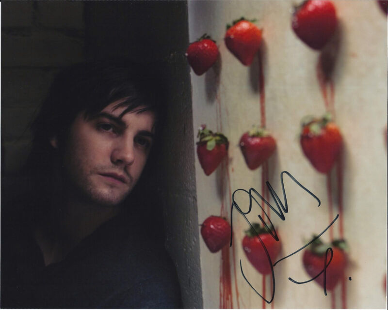 ACTOR JIM STURGESS SIGNED 21 8X10 PHOTO W/COA CLOUD ATLAS THE WAY BACK ONE DAY