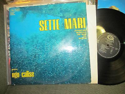 Calise (UGO CALISE Sette Mari OST LP '69 Italian orig ocean library funk Edda dell'Orso )