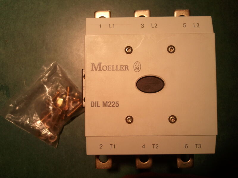 MOELLER DILM225/22 **NEW IN BOX** DILM DILM225 DILM 225 DIL M225 CONTACTOR