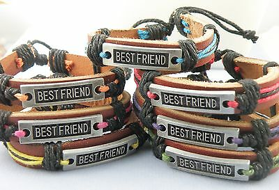 Best Friend / Friendship Surfer / Surf Surfing Bracelet Synthetic Leather