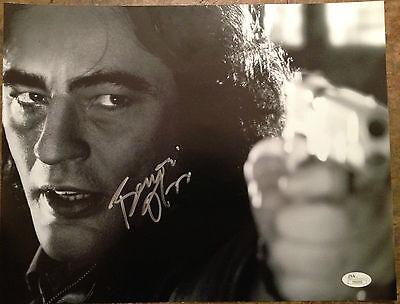 Sin City  Benicio Del Toro Signed 11X14 Jsa
