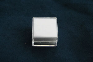 Gemstone Collector Storage Display Box Stones Viewing Small Square Clear Box New