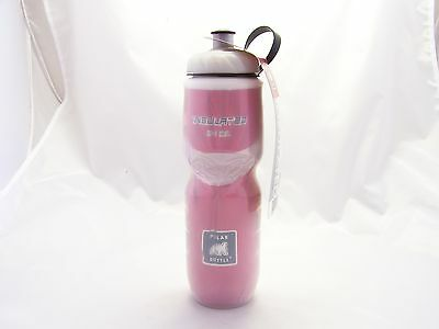 Polar Insulated Bicycle Water Bottle 24oz (Red Water Bottle)