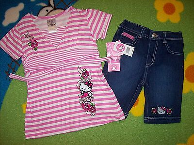 Hello Kitty Toddler Outfit (Hello Kitty Outfit Girls 2pc Set Mine Forever  Size 2T 3T 4Toddler)
