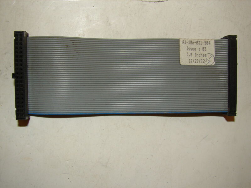 "SIEMENS A1-106-031-504 RIBBON CABLE 5"" ****XLNT****"