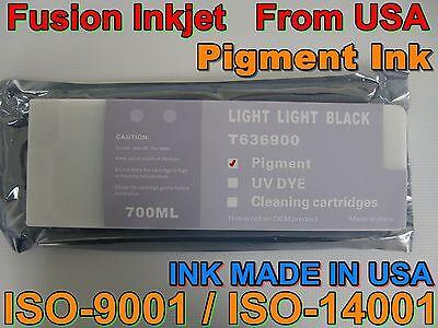 - cartridge fit Light Light Black Pigment INK Epson Stylus Pro 7900 9900 7890 9890
