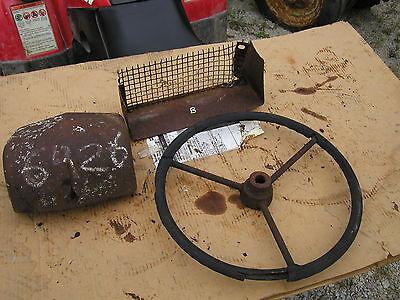 John Deere B Tractor Nose Cone Crown Hood Medallion Steering Wheel Tool Box