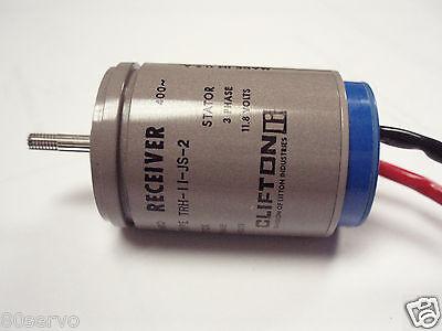 Synchro Receiver Type Trh-11-js-2 26vac11.8vac 400hz. Mfg. Clifton Prec.