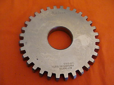 Reliance Gear Cutter Disc Shaper Finishing Topping 8 Dp 14.5 Pa 32t 1.25 Bore