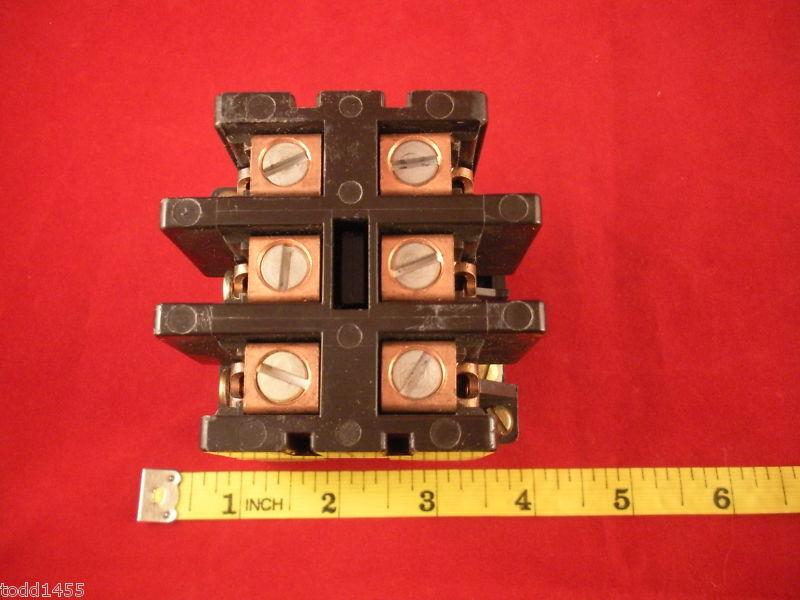 Square D Contactor LO-3 40A Ser C 8910LO3 120V 60Hz NEW