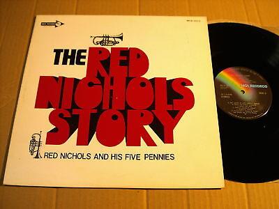 RED NICHOLS - STORY - LP MCA-3012 JAPAN